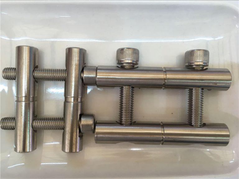 ansi 316ti / en 1.4571, 317l / en 1.4438 paslanmaz çelik parçalar-bağlantı kolu serisi