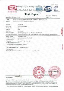A453 660B için sertifika