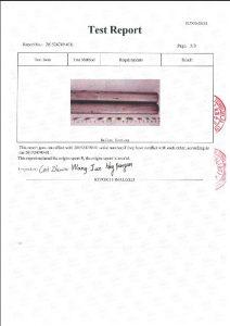 A453 660B 3 için sertifika