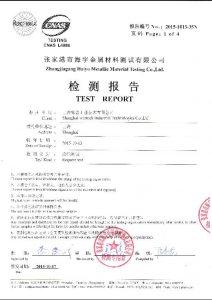 S32750 için sertifika