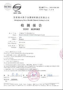 S32760 için sertifika