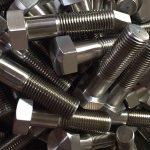 nikel alaşımı 600 tr 2.4816 cıvata tekerlek çivileri din931çin tedarikçisi
