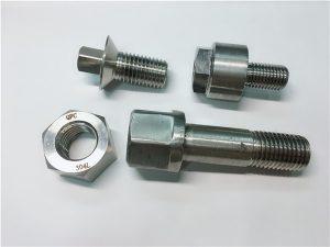NO. 28 Çin'den ithal bağlantı elemanı Paslanmaz çelik SS 304 SS316 HEX BOLT