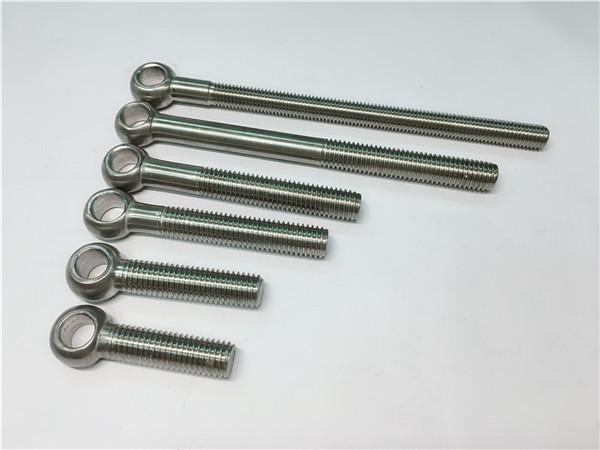 904l / 1.4539 / uns n08904 halka cıvata, vana montajı için özelleştirilmiş cıvatalar
