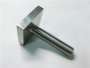 No.105-Nickel Cooper monel 400 kare cıvata bağlantı elemanı, n04400