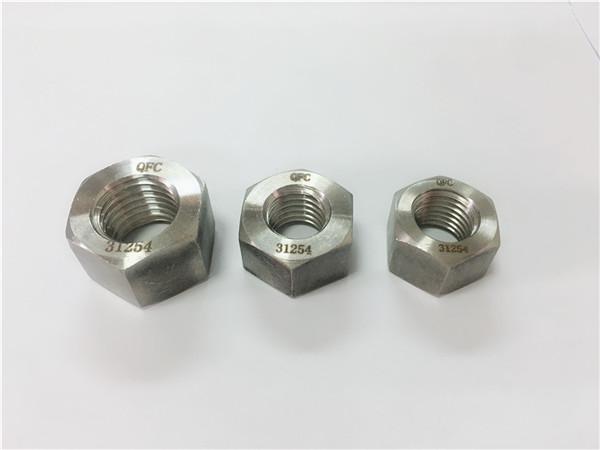 çift taraflı paslanmaz çelik 2205 / s32205 altıgen somun