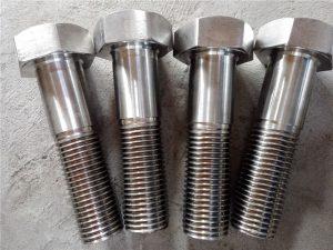 No.15-Nitronic 50 XM-19 Altıgen cıvata DIN931 UNS S20910