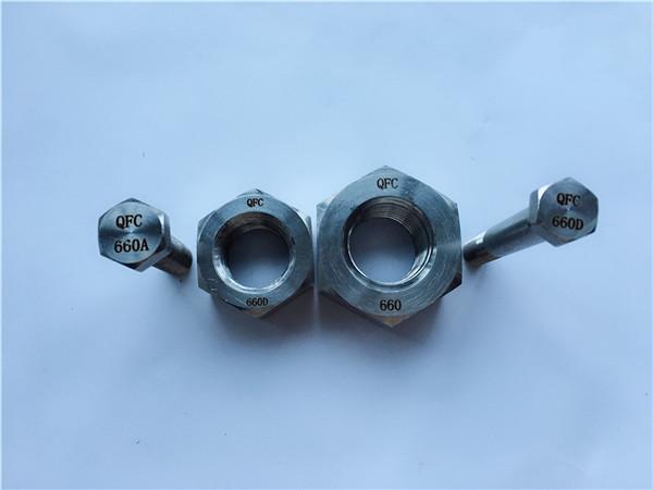 nikel alaşımlı c22 tr 2.4602 tüm dişli saplama cıvata nus hastelloy c 276