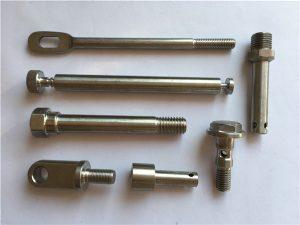 No.42-recision Paslanmaz Bağlantı Elemanları CNC Metal bağlantı elemanlarının tornalanması