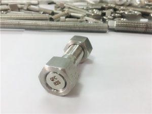 No.82-inconel 825 bağlantı elemanı alaşımı 825 bağlantı elemanı