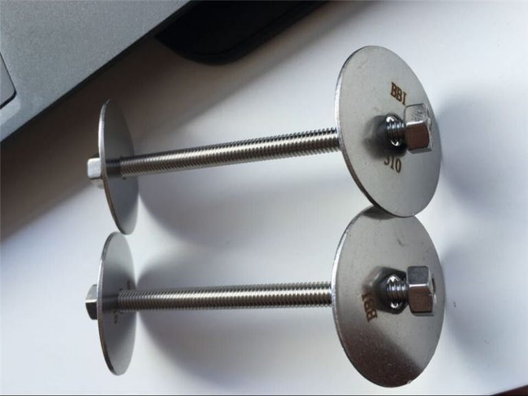 ss310 / ss310s astm f593 bağlantı elemanı, paslanmaz çelik cıvata, somun ve rondelalar