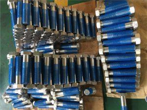 SUS 304L EN1.4306 SS bağlantı elemanı altıgen cıvataları ISO4014 yarım diş