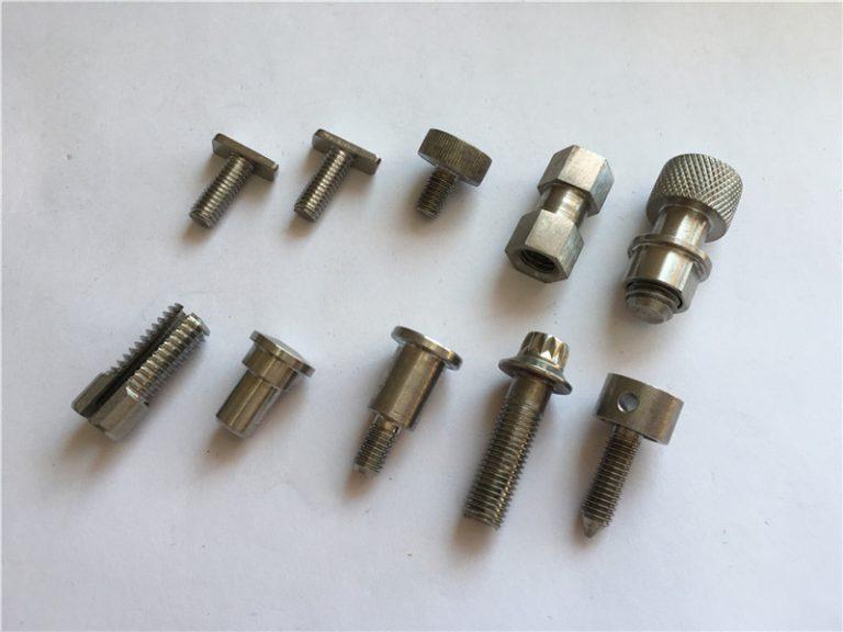 Özelleştirilmiş yüksek hassasiyetli standart olmayan vida, paslanmaz çelik cnc işleme vidası
