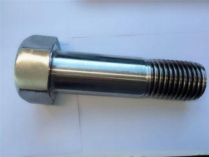süper dubleks paslanmaz çelik din931 yarım dişli altıgen cıvata